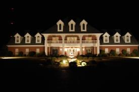 Potential B&B/ Wedding Events/ Country Estate: Front View night
