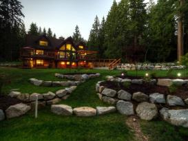 Roberts Creek 12 acre estate with 2 B&B: