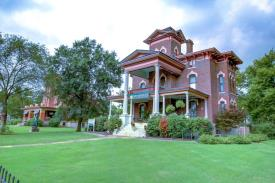 Lyons Twin Mansions: Front View of Property