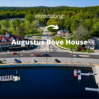 Augustus Bove House: Location